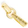 Swarovski Rhinestone Bail 37mm Gold/ Golden Shadow